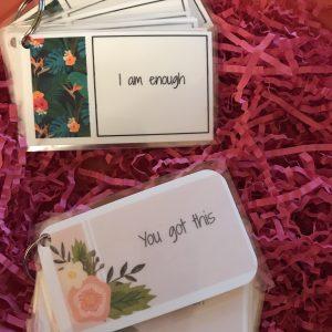 Self help cards
